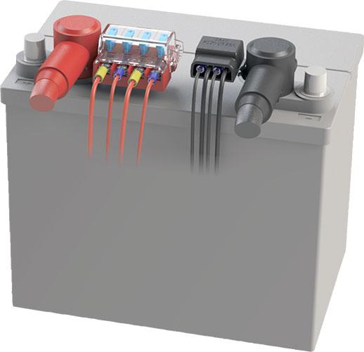 Battery terminal block