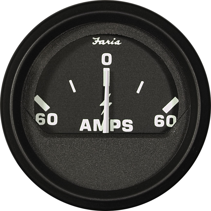 Dc Ammeter 60 0 60 Amperes Blue Sea Systems