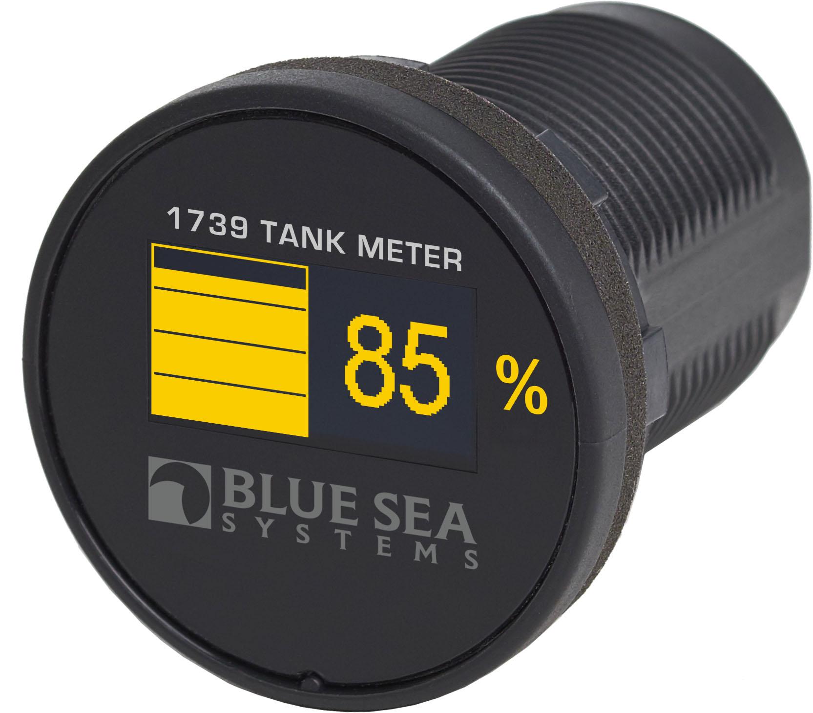 Mini Oled Tank Meter Yellow Blue Sea Systems