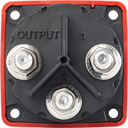 Blue Sea 6007 M-Series Selector Battery Switch 4-Position Red