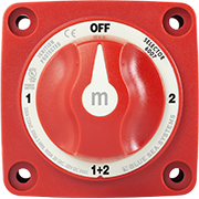 """Blue Sea 6006 M-Series Battery Switch Single  On//Off Marine Boat /""""New Style/"""""""