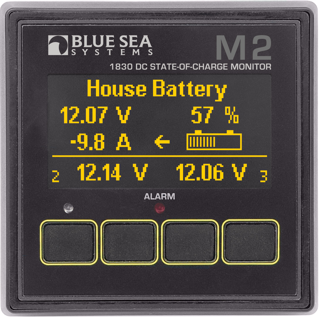 State Of Charge Battery Monitor : M dc soc monitor blue sea systems