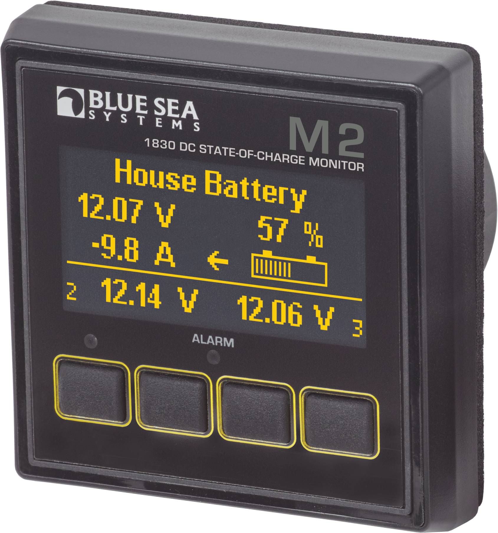 M2 DC SoC Monitor Blue Sea Systems