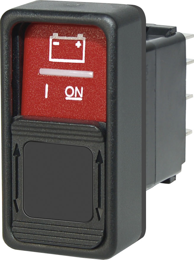 spdt remote control contura switch on off on blue sea systems product image · switches contura switches
