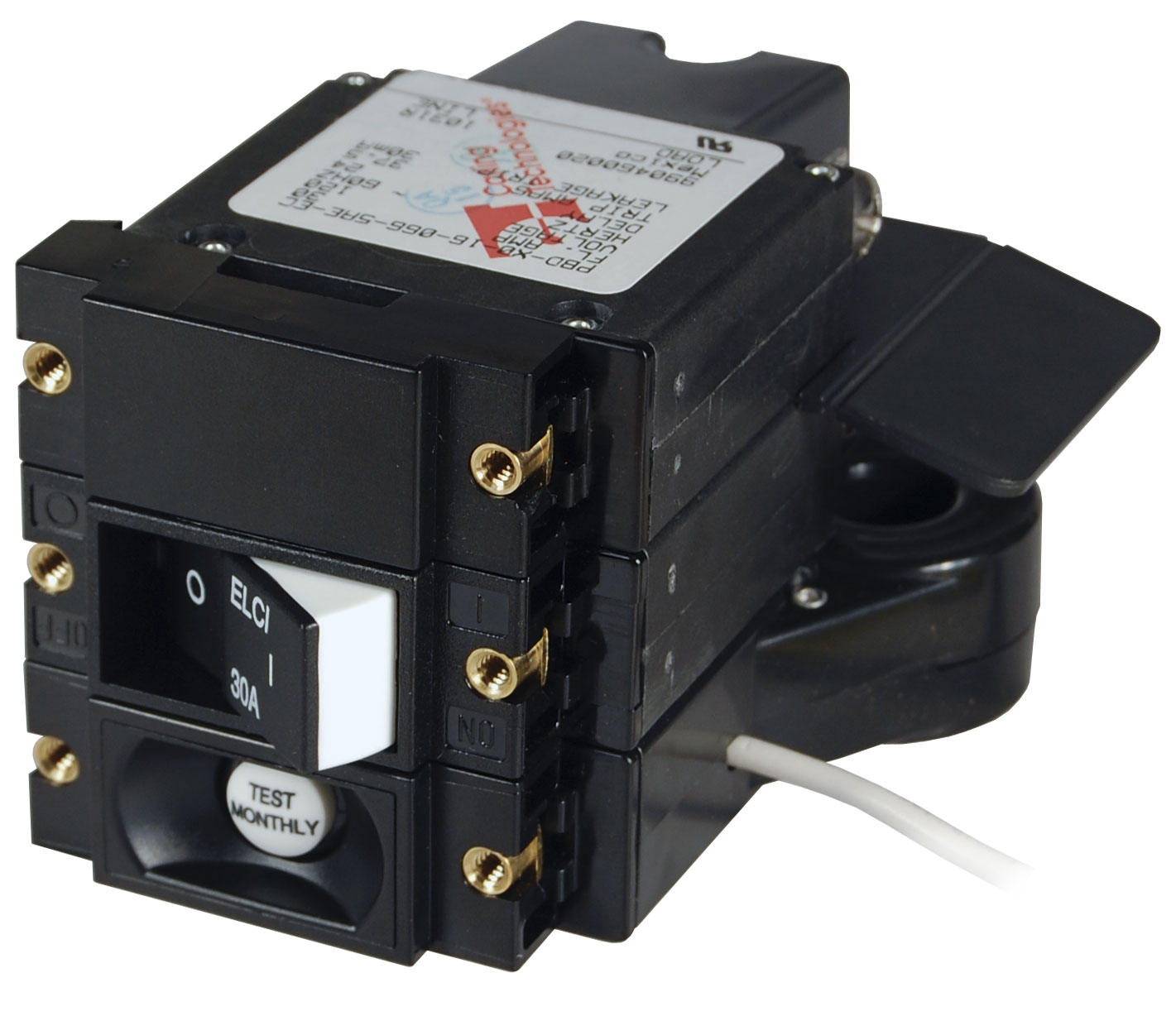 A-Series ELCI Main Circuit Breaker - Double Pole 120V AC 30A - Blue ...
