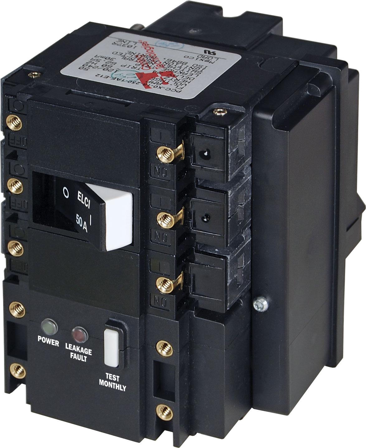 c series elci main circuit breaker 120 240v ac 50a. Black Bedroom Furniture Sets. Home Design Ideas