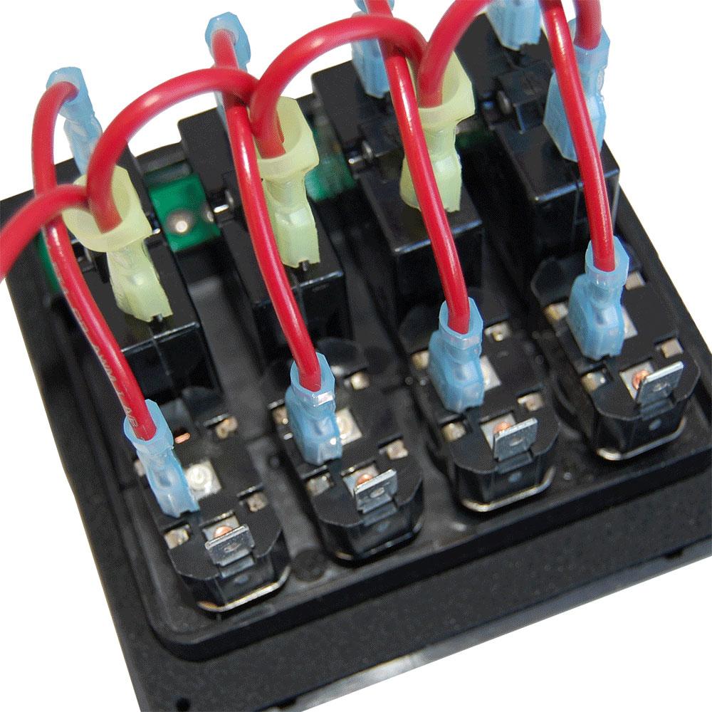 Weatherdeck U00ae 12v Dc Waterproof Circuit Breaker Panel