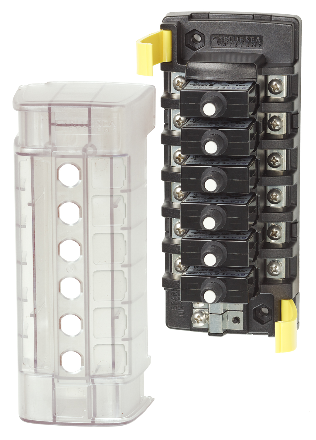 st clb circuit breaker block 6 independent circuits. Black Bedroom Furniture Sets. Home Design Ideas