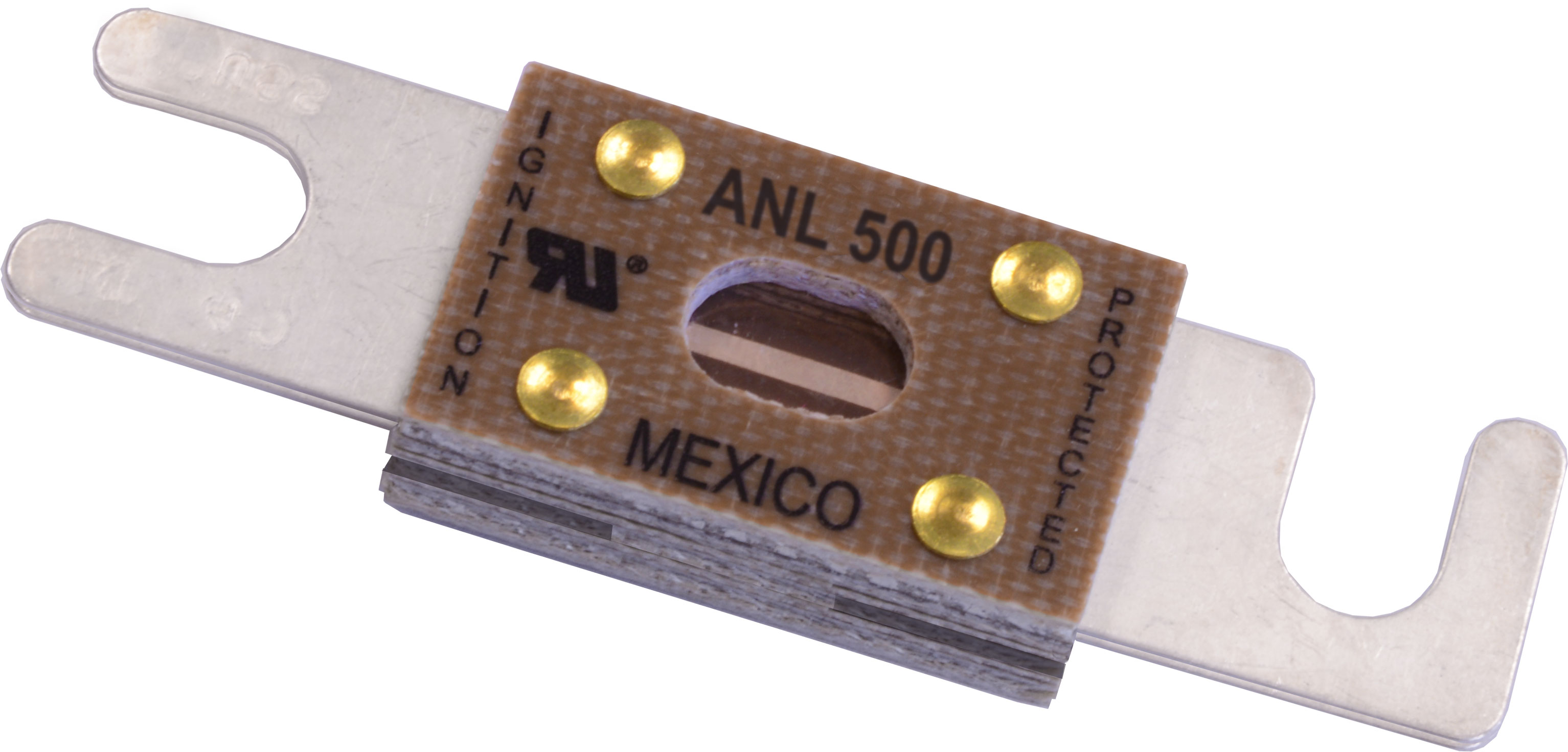 50 Amp Wire Size >> ANL Fuse - 500 Amp - Blue Sea Systems