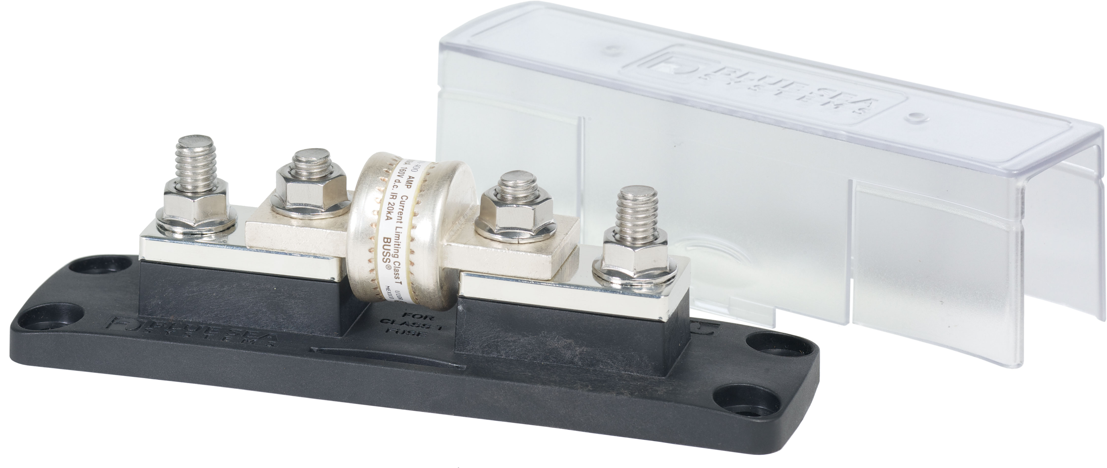 Class T Fuse Block With Insulating Cover 225 To 400a