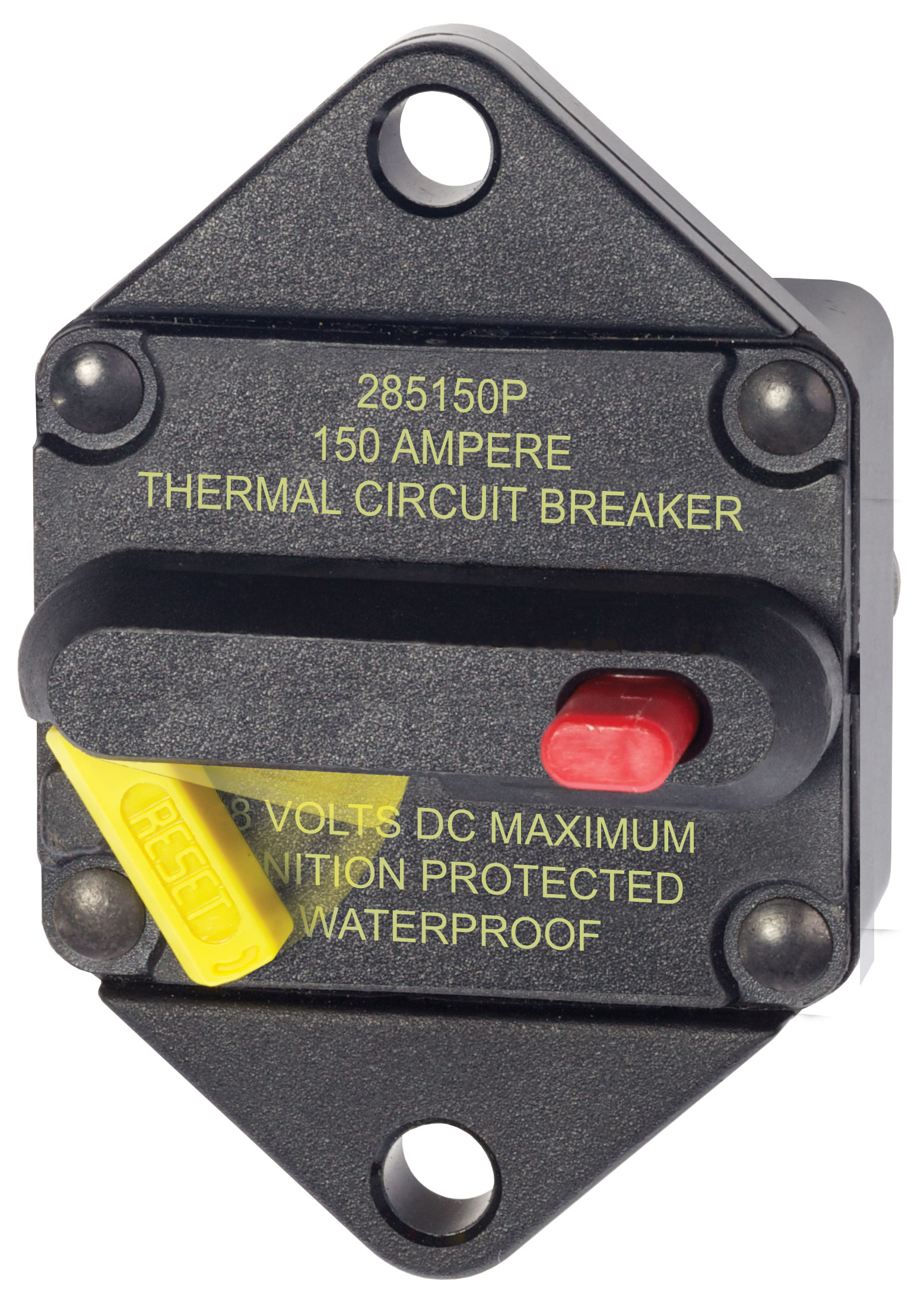 285 series circuit breaker panel mount 150a blue sea systems product image · circuit breakers