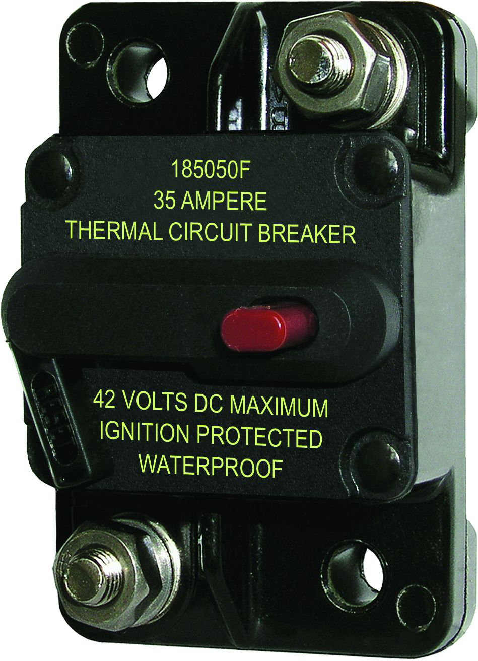 Circuit Breaker 35 Amp Blue Sea Systems Solenoid Wiring Diagram Product Image