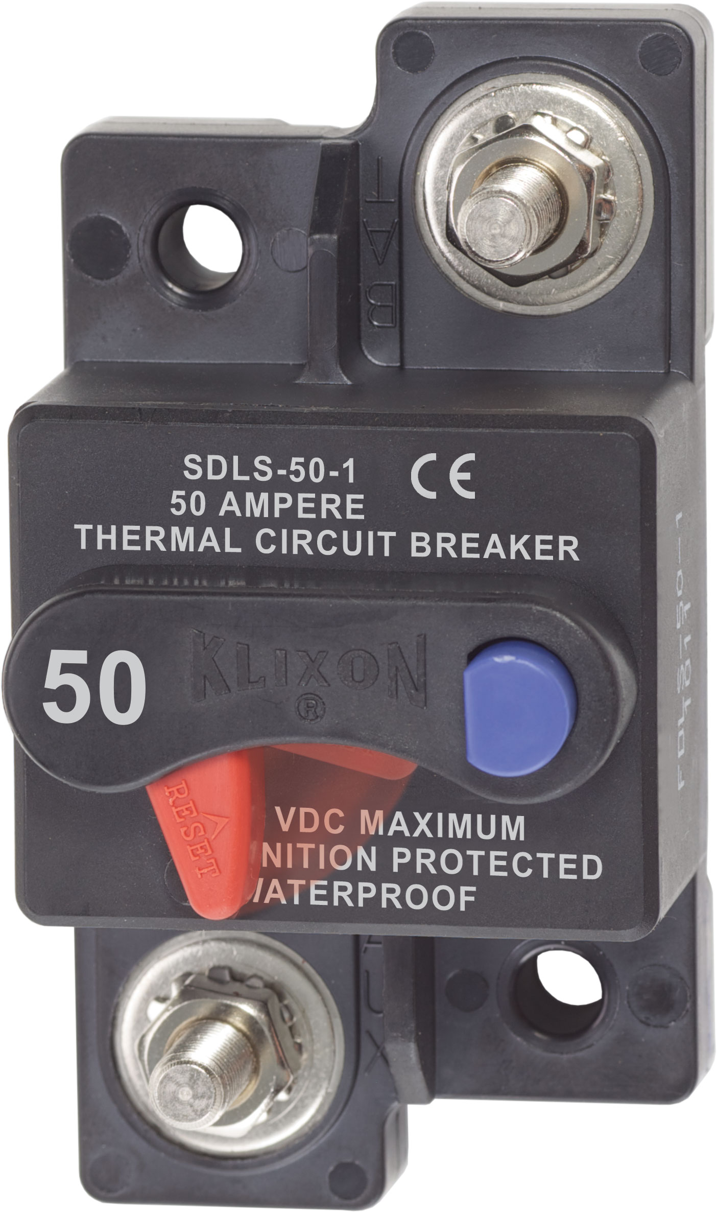 Amp 12v Dc Circuit Breaker Replace Fuse 50a 12vdcin Circuit Breakers