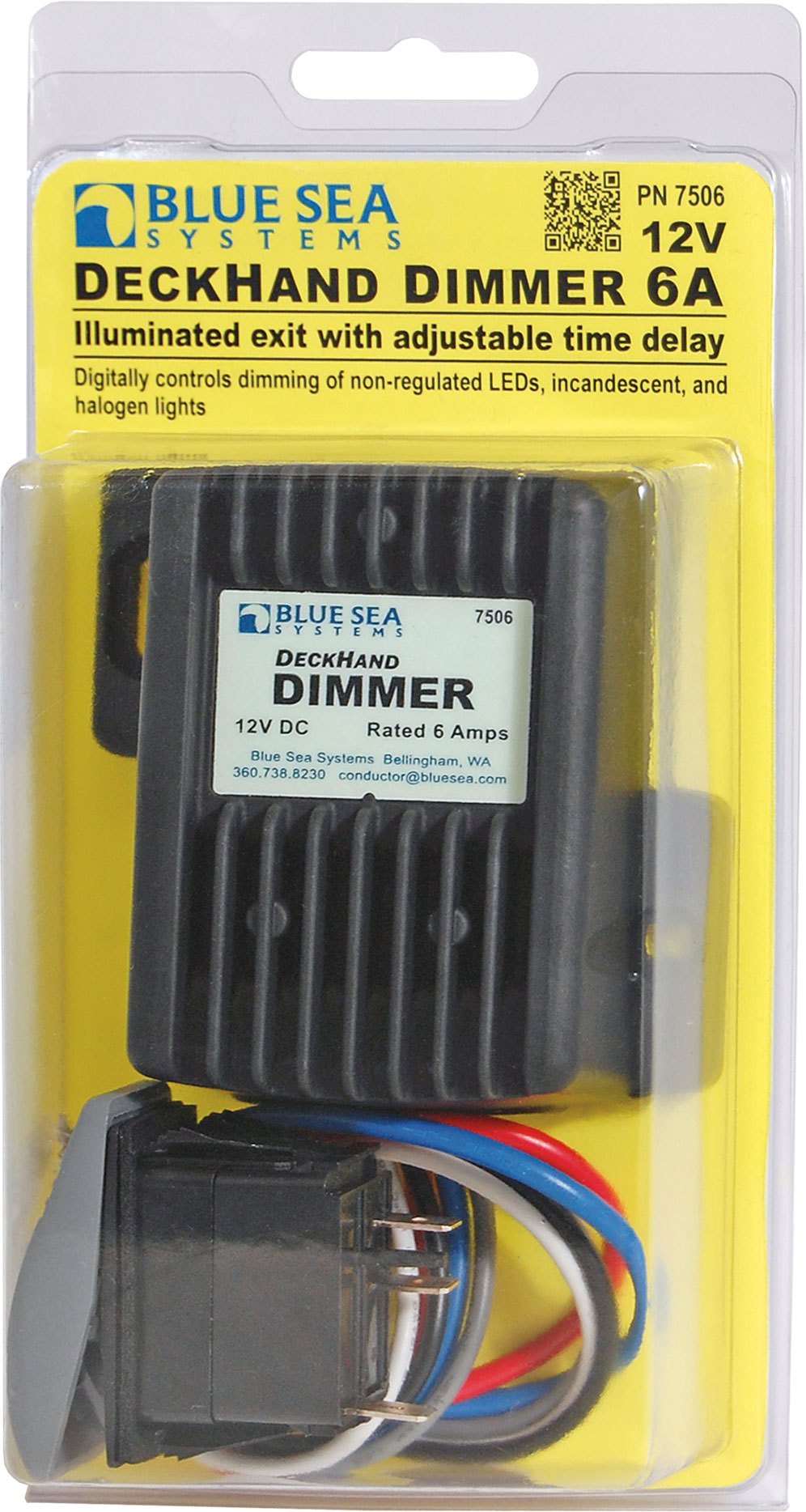 Deckhand Dimmer 12v Dc 6a Blue Sea Systems Digital Signage Wiring Diagram Dimmers