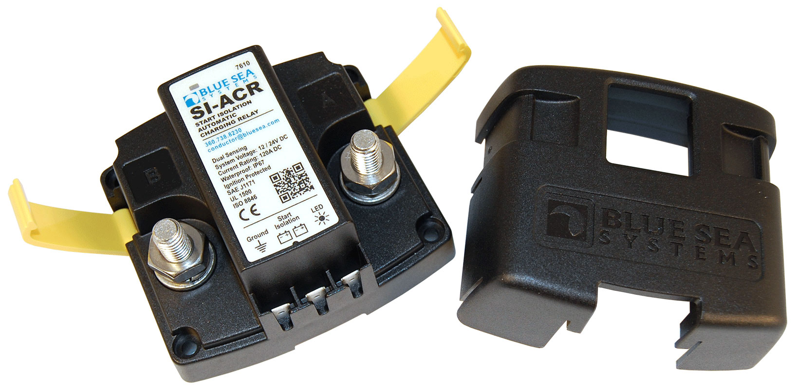 SI-ACR Automatic Charging Relay - 12/24V DC 120A - Blue Sea Systems