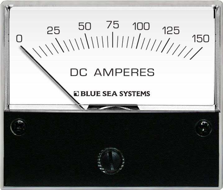 Dc Analog Ammeter - 0 To 150a With Shunt