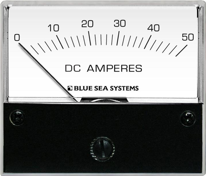 Analog Dc Ammeter : Dc analog ammeter to a with shunt blue sea systems