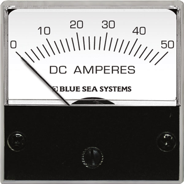 Dc Micro Ammeter - 0 To 50a With Shunt