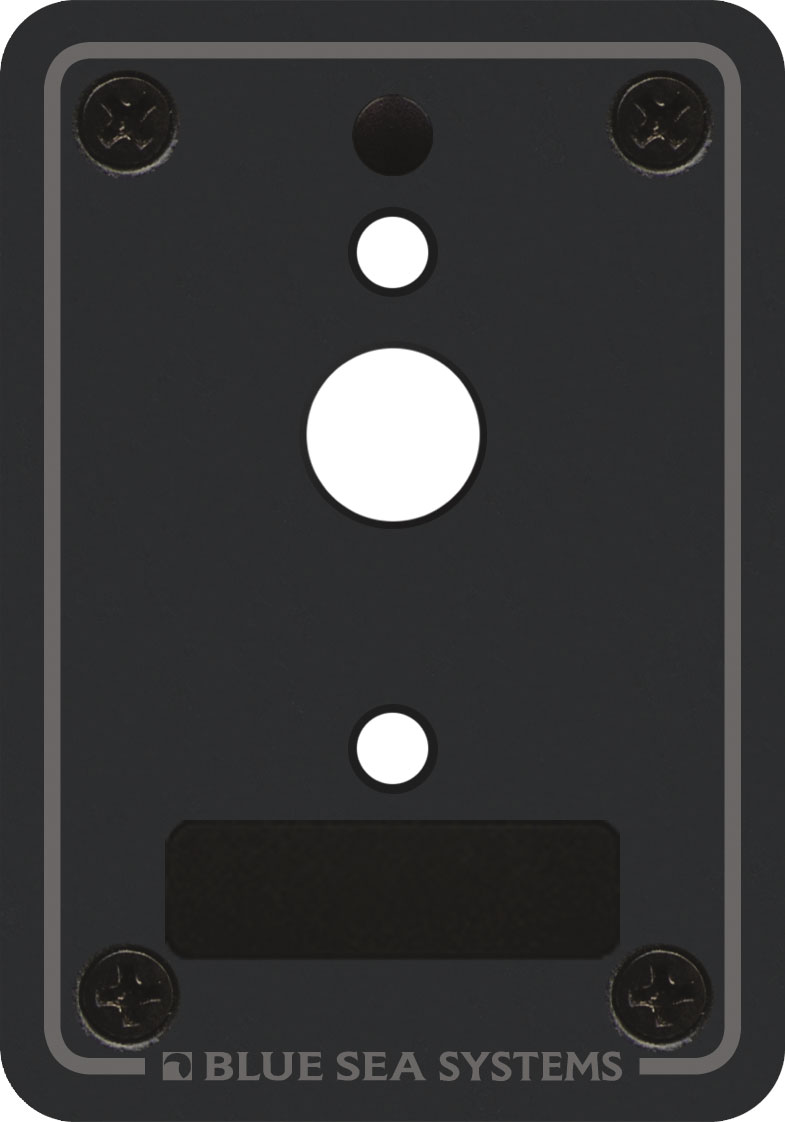 A Series Single Blank Mounting Panel Blue Sea Systems Portable Circuit Breaker Product Image Breakers Accessories