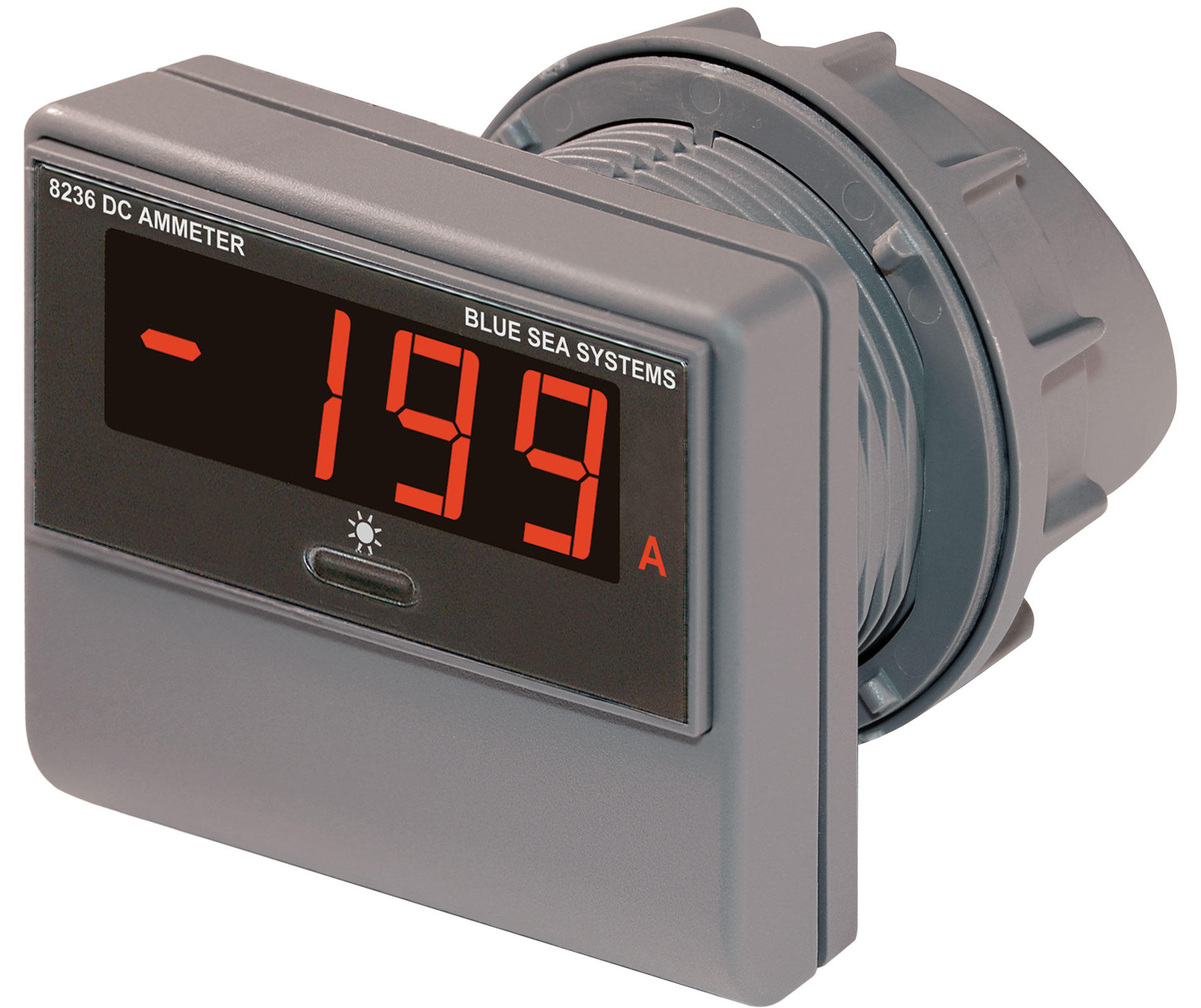 DC Digital Ammeter - 500 to 500A - Blue Sea Systems