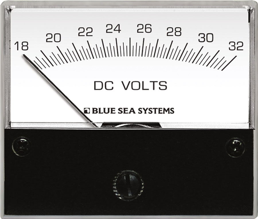 8240 dc voltmeter 18 to 32v dc blue sea systems  at pacquiaovsvargaslive.co