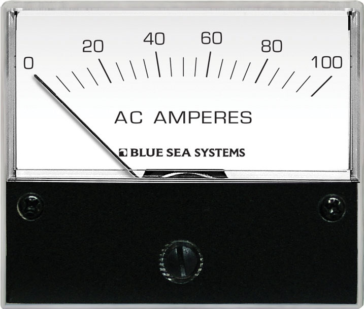 Ac Ammeter - 0 To 100a With Coil