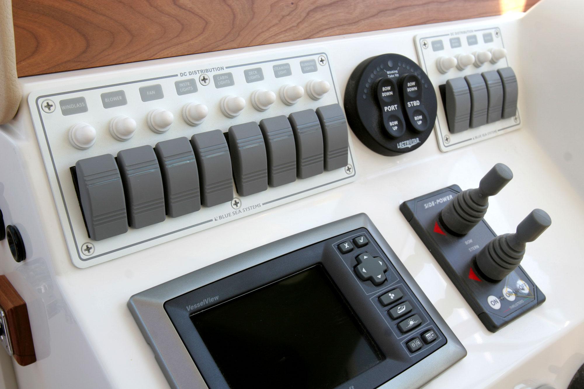 Contura Water Resistant 12v Dc Circuit Breaker Panel