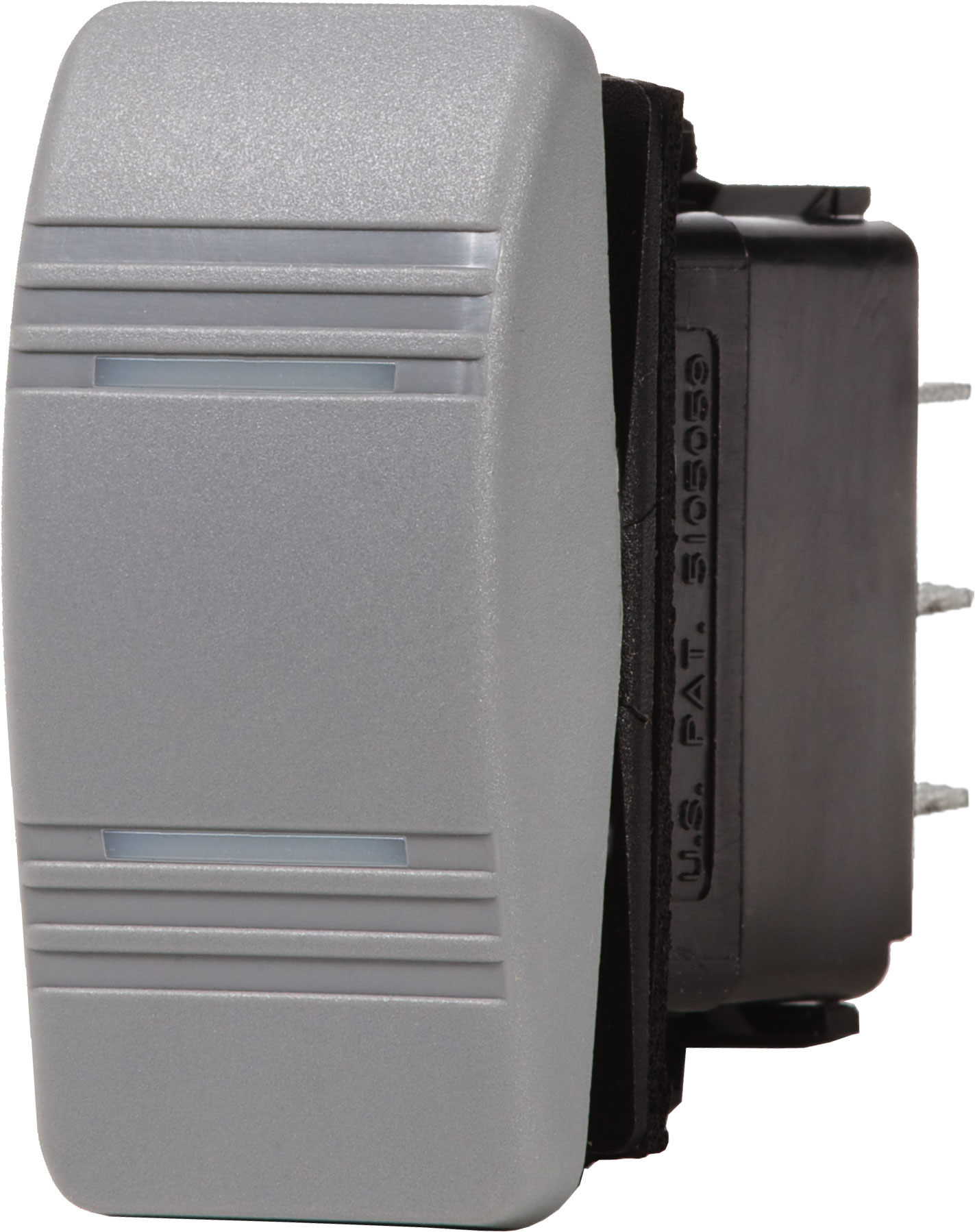 contura switch dpdt gray on on blue sea systems product image · switches contura switches