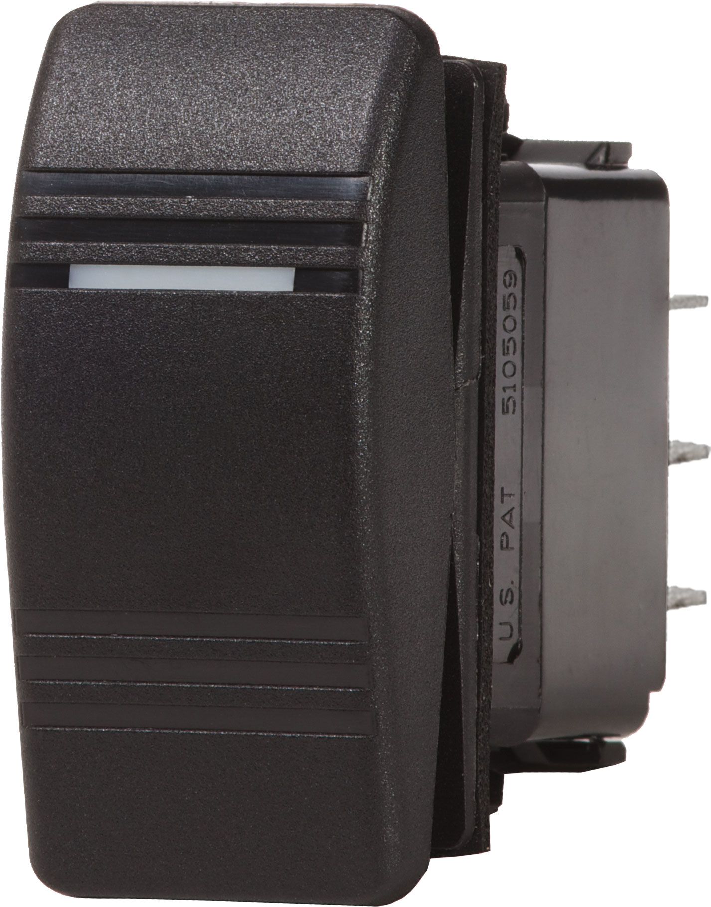 Contura Switch Dpst Black Off On Blue Sea Systems Solenoid Wiring Diagram Product Image
