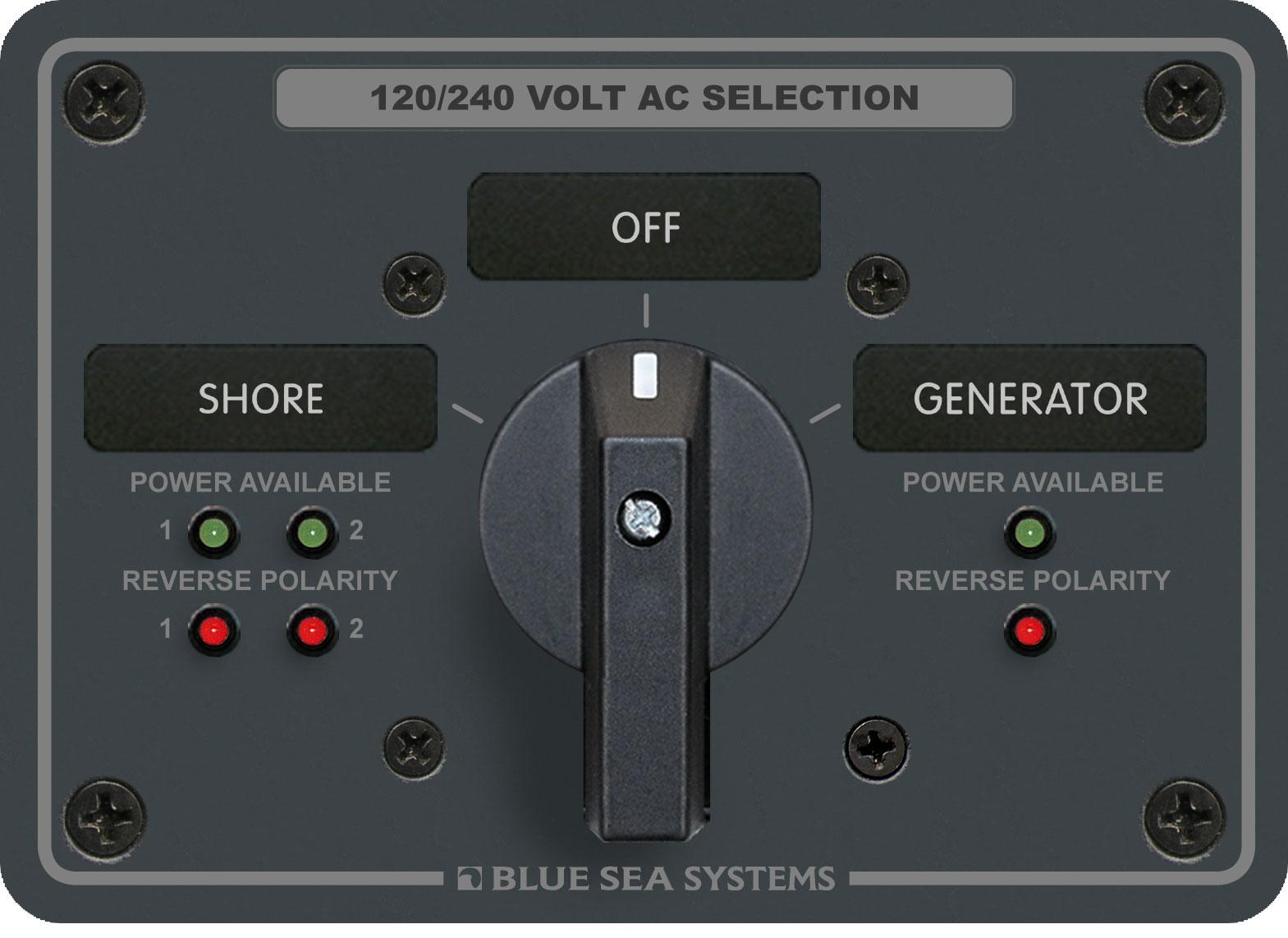 Product Image. AC Panels Rotary Switch Panels