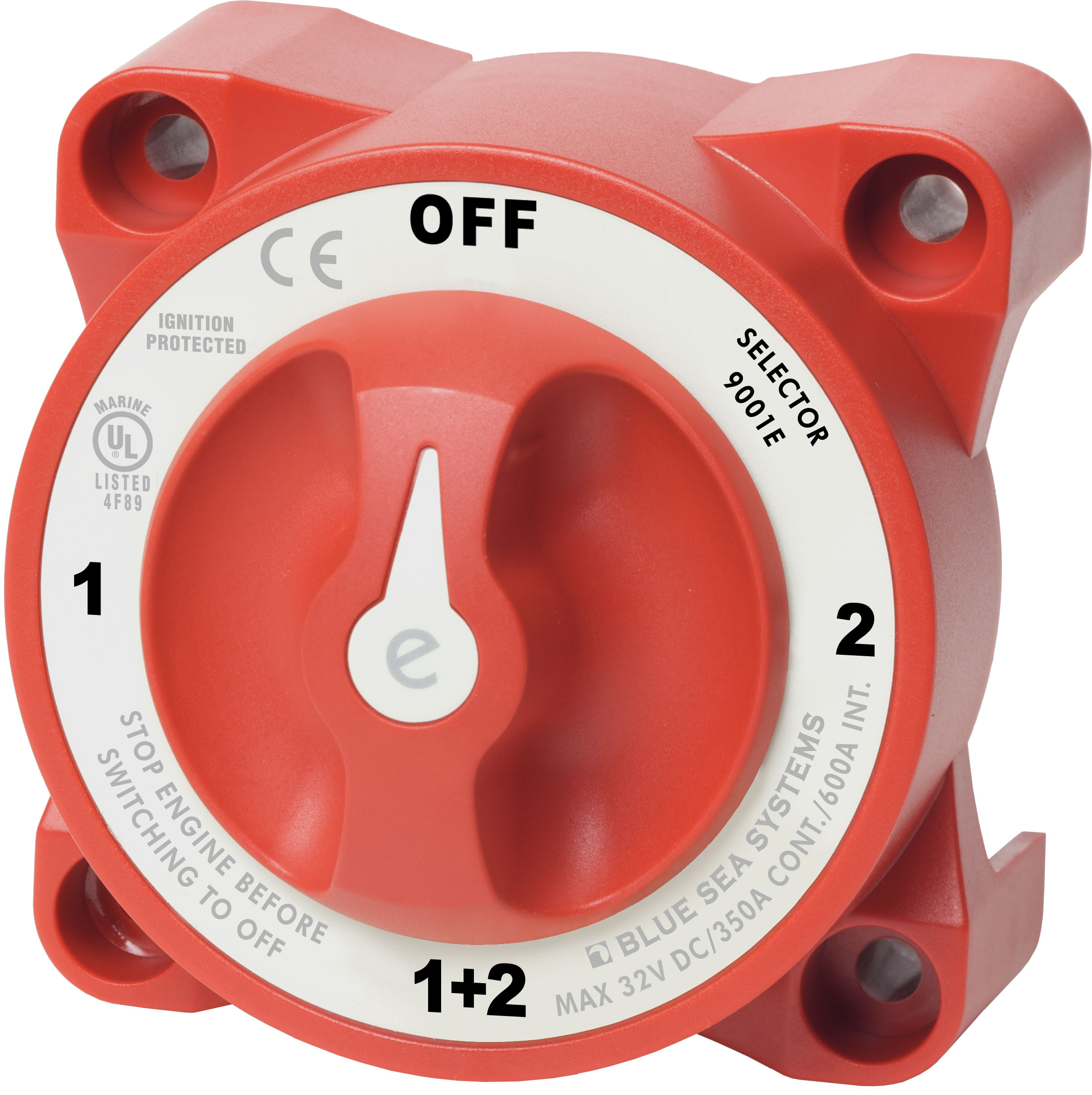 e series selector battery switch blue sea systems product image