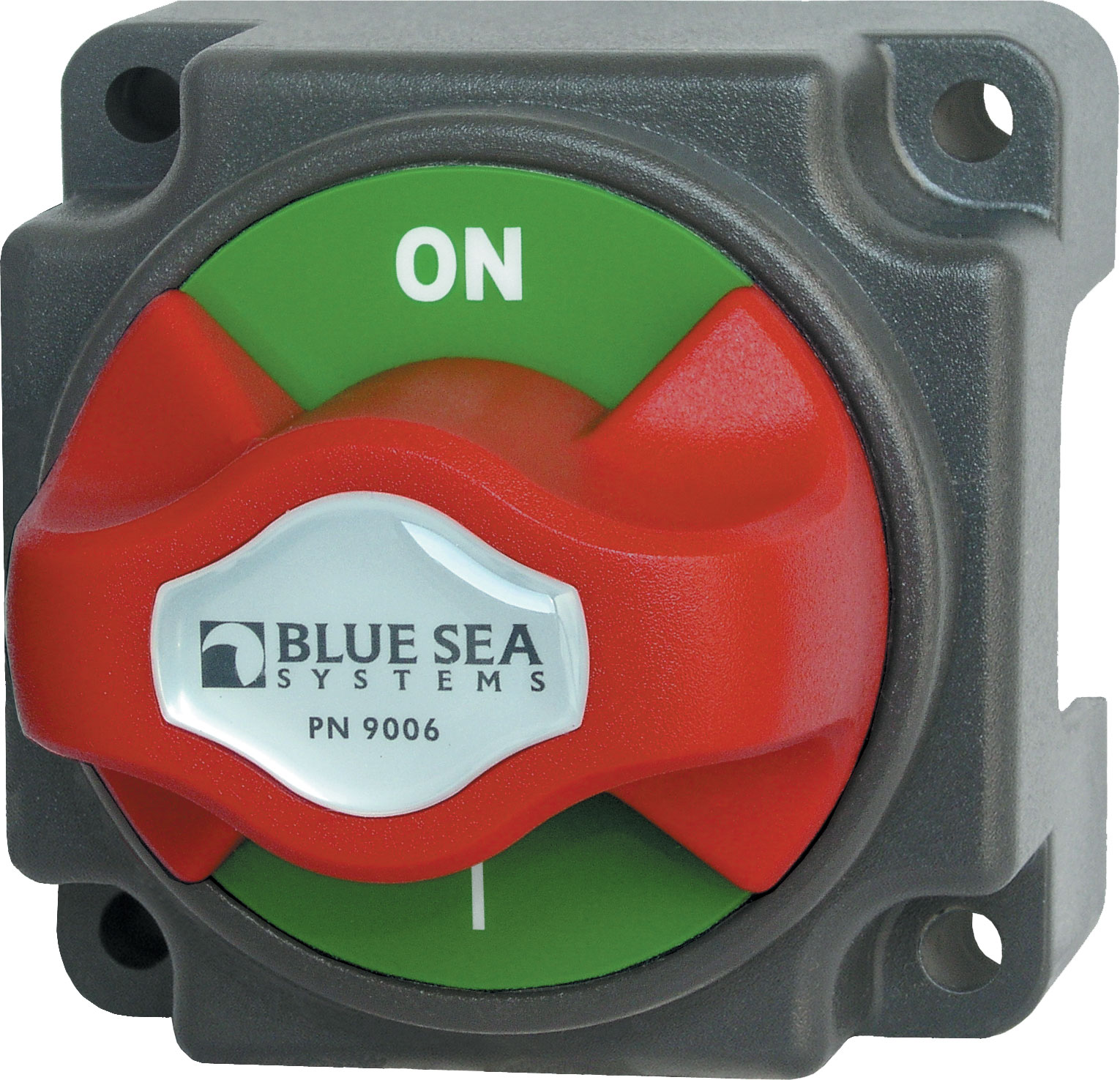 Battery Switch Mini On Off With Knob Blue Sea Systems