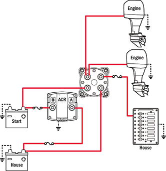 2015 2batt_2eng_2A battery management wiring schematics for typical applications marine battery isolator switch wiring diagram at bayanpartner.co